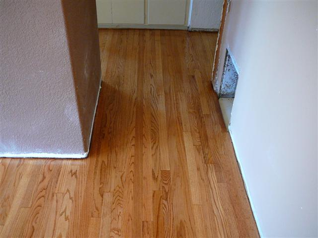After Hardwood Floor Refinsihing Example 2