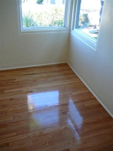 After Hardwood Floor Installation and Refinishing