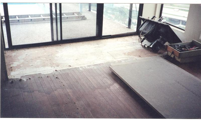 Before Hardwood Floor Installation