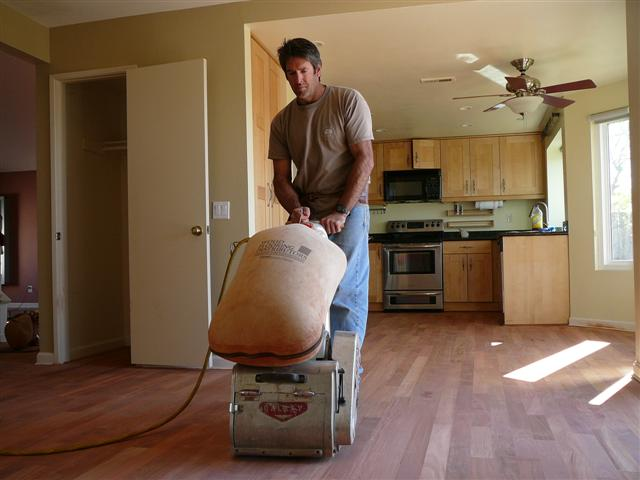 San Diefo Hardwood Floor Refinishing