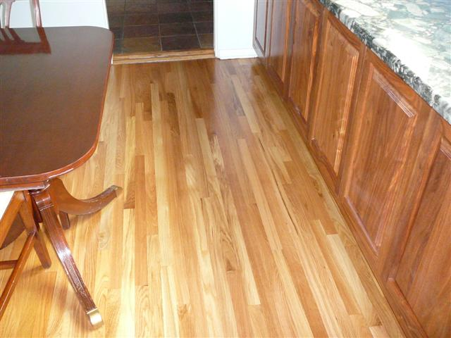 White Oak After Hardwood Refinishing